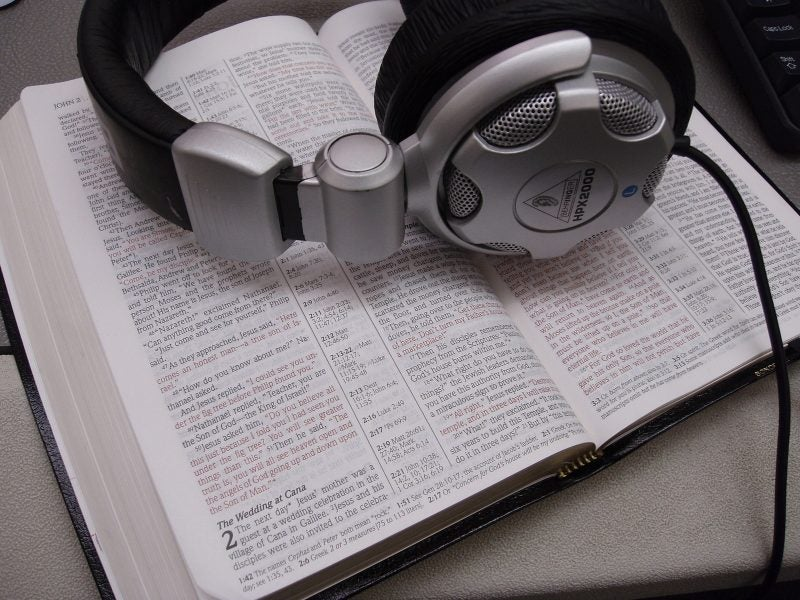 best audio bible sites
