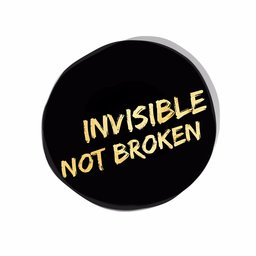 Invisible Not Broken logo