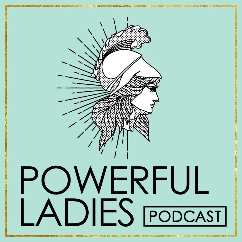 The Powerful Ladies Podcast Logo