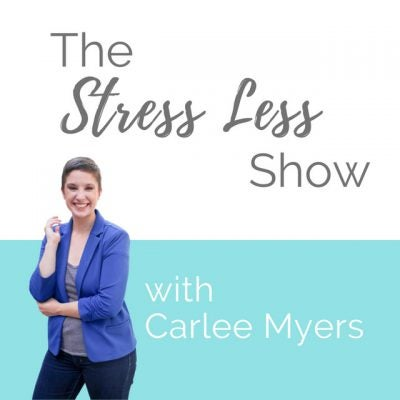 The Stress Less shows featuring Carlee Myers on handling stress