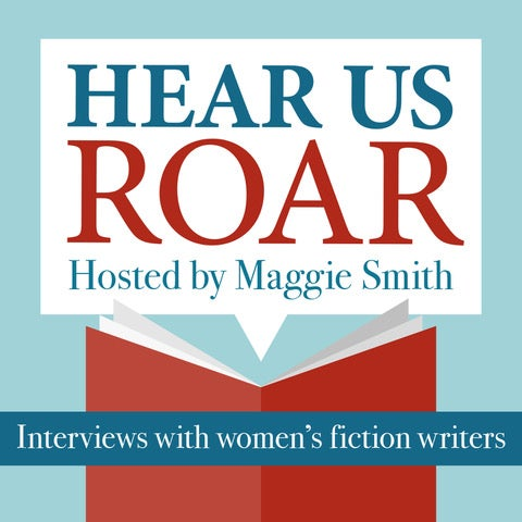 Hear us Roar - Debut Author Podcast promotional image