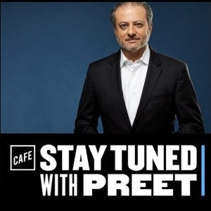 Stay Tuned with Preet logo