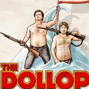 The Dollop podcast logo
