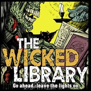 The Wicked Library podcast logo