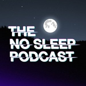 The No Sleep Podcast logo