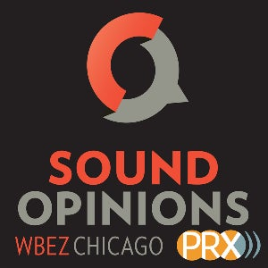 The logo for Sound Opinions, a musical podcast that covers all genres.