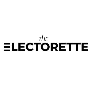 The official logo for the female-centric podcast The Electorette.