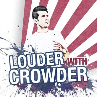 Louder with Crowder Podcast logo