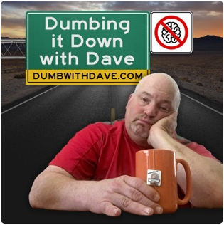 Dumbing It Down with Dave logo