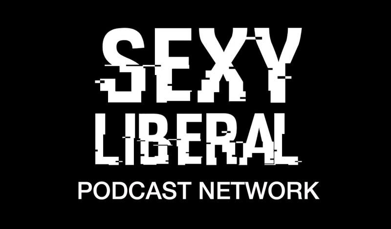 Sexy liberal podcast network logo