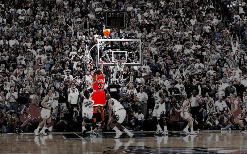 michael jordan final moments of NBA games